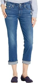 Lucky Brand Mid-Rise Sweet Straight Ankle Jeans in
