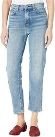 7 For All Mankind High-Waist Cropped Straight in R