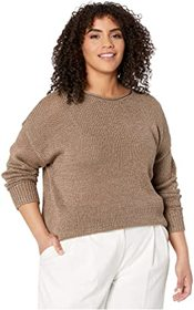 LAUREN Ralph Lauren Plus Size Cotton-Blend Sweater