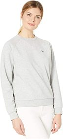 Lacoste Long Sleeve French Terry Motion Crew Neck