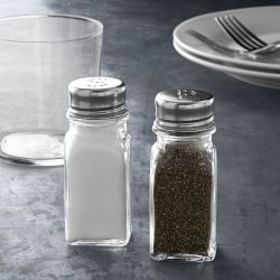 Open Kitchen by Williams Sonoma Glass Salt & Peppe