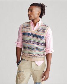 Ralph Lauren Fair Isle Sweater Vest