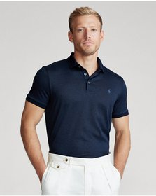 Ralph Lauren Custom Slim Fit Jersey Polo