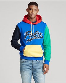 Ralph Lauren Color-Blocked Logo Hoodie