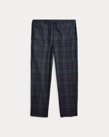Ralph Lauren Stretch Relaxed Fit Plaid Pant