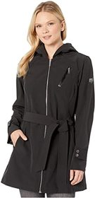 Vince Camuto Hooded and Belted Jacket V10713-ZA