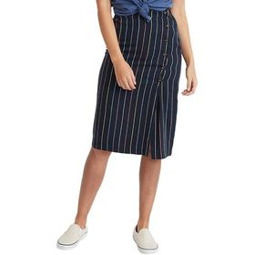 Marine Layer Stripe Layla Wrap Skirt - Women's