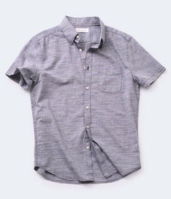 Aeropostale Streaky Button-Down Shirt