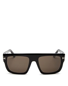 Tom Ford - Men's Alessio Flat Top Square Sunglasse