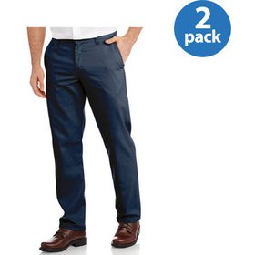 Genuine Dickies Men's Slim Fit Flat Front Flex Pan