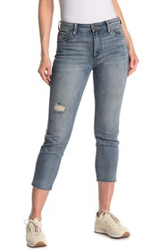 KUT from the Kloth Reese Distressed High Waist Raw