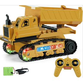 Remote Control Excavator Toy Truck for Kids | Full