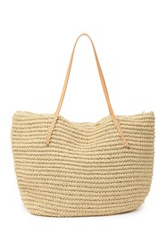 Urban Expressions Soft Straw Tote