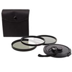 Bower 72mm Digital Filter Kit, UV, CPL and ND Filt