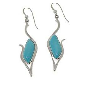 Jay King Sterling Silver Campitos Turquoise Drop E
