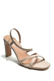 Nicole Miller Reima Squared Heel Strappy Sandal