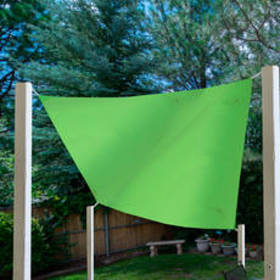 Kaemingk Square Outdoor Patio Sun Shade Tarp