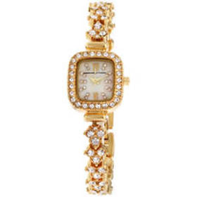 Womens Adrienne Vittadini Mother of Pearl Watch -