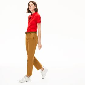 Lacoste Women's Stretch Cotton Chinos