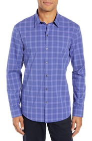 Zachary Prell Wandy Regular Fit Check Sport Shirt