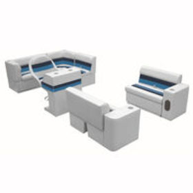 Deluxe Pontoon Furniture with Toe Kick Base, Group