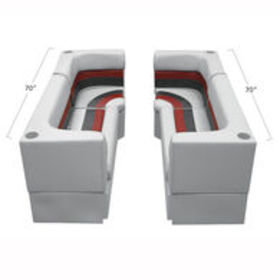 Deluxe Pontoon Furniture w/Toe Kick Base - Party P