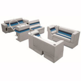 Deluxe Pontoon Seats w/Toe Kick Base, Complete Pac
