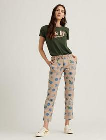Lucky Brand Mid Rise Utility Straight