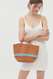 UO Lizzy Woven Tote Bag