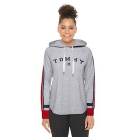 Tommy Hilfiger Long Sleeve Striped Hoodie T-Shirt