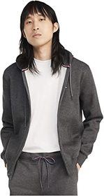 Tommy Hilfiger Plains Hoodie Zip-Up Sweatshirt