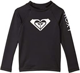 Roxy Kids Roxy Kids - Whole Hearted Long Sleeve Ra