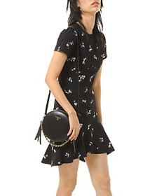 MICHAEL Michael Kors - Floral-Embroidered Dress