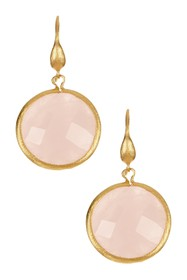 Rivka Friedman 18K Gold Plated Bold Round Faceted