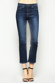 VERVET BY FLYING MONKEY Faria Bootcut Crop Jeans