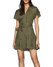 REISS - Gemina Casual Embroidered Mini-Dress