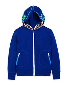 Stella McCartney - Boys' Cotton Zip-Up Monster Hoo