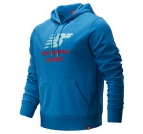 New balance Men's NB Numeric Logo Stacked Hoodie