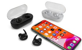 Aduro Sync-Buds True Wireless Earbuds with Wireles
