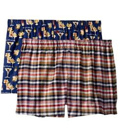 Tommy Bahama 2-Pack Flannel Boxers