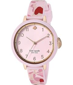 Kate Spade New York Park Row Heart Silicone Watch