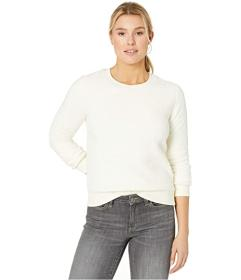 Lucky Brand Sherpa Scoop Neck Pullover Sweatshirt