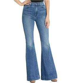 7 For All Mankind Mega Flare in Alpine