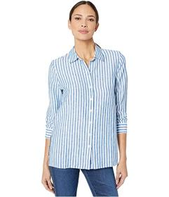 Tommy Bahama Cabana Stripe Linen Long Sleeve Shirt
