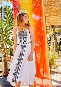 Justice Embroidered Maxi Dress