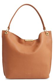 Ted Baker London Candiee Pebbled Leather Hobo Bag