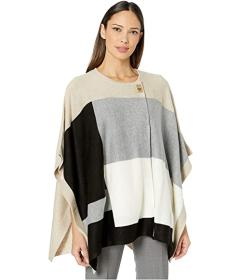 Calvin Klein Poncho Color-Block
