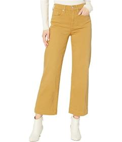 7 For All Mankind Cropped Alexa in Amber