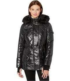 MICHAEL Michael Kors Active Polyfill with Faux Fur