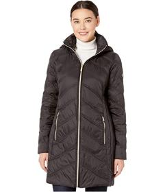 MICHAEL Michael Kors 3\u002F4 Packable Jacket with